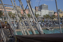 Looking Through The Rigging Of...