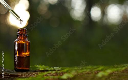Fototapeta Dropper for essential oil bottle. obraz