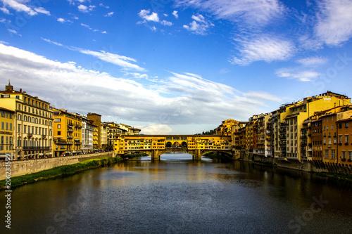 Plakat Ponte Vecchio River Arno