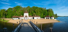 Panorama Of The  City Beach At...