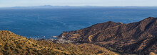 Panoramic View From Top Of Catalina Island