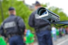 Security CCTV Camera Or Survei...