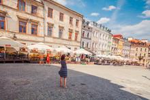 Street In Lublin, Poland