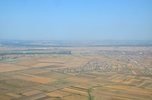 Wheat Fields, Plains With Diff...