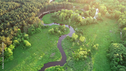 aerial-view-of-natural-river