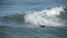 Unknown Surfer Has Wiped Out