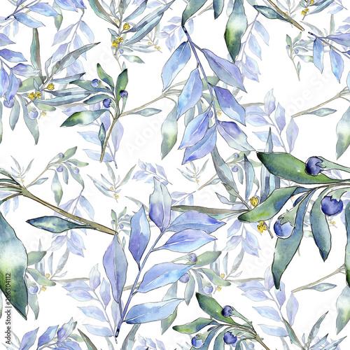 elaeagnus-niebieski-pozostawia-w-akwareli
