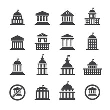 Government Icon Set