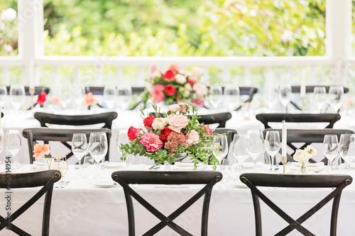 Wedding Reception Fototapet