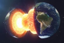 Structure Core Earth. Structur...