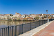 Panorama of the river Duero and Zamora, Spain
