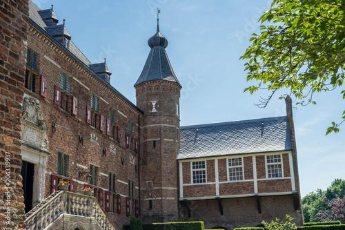 Spoed Foto op Canvas Theater Huis Berg Castle in Netherlands