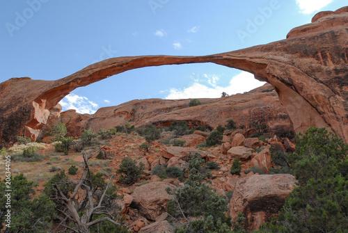 Foto op Aluminium Cappuccino Arches National Park USA