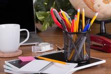 Assortment Of Office Supplies ...