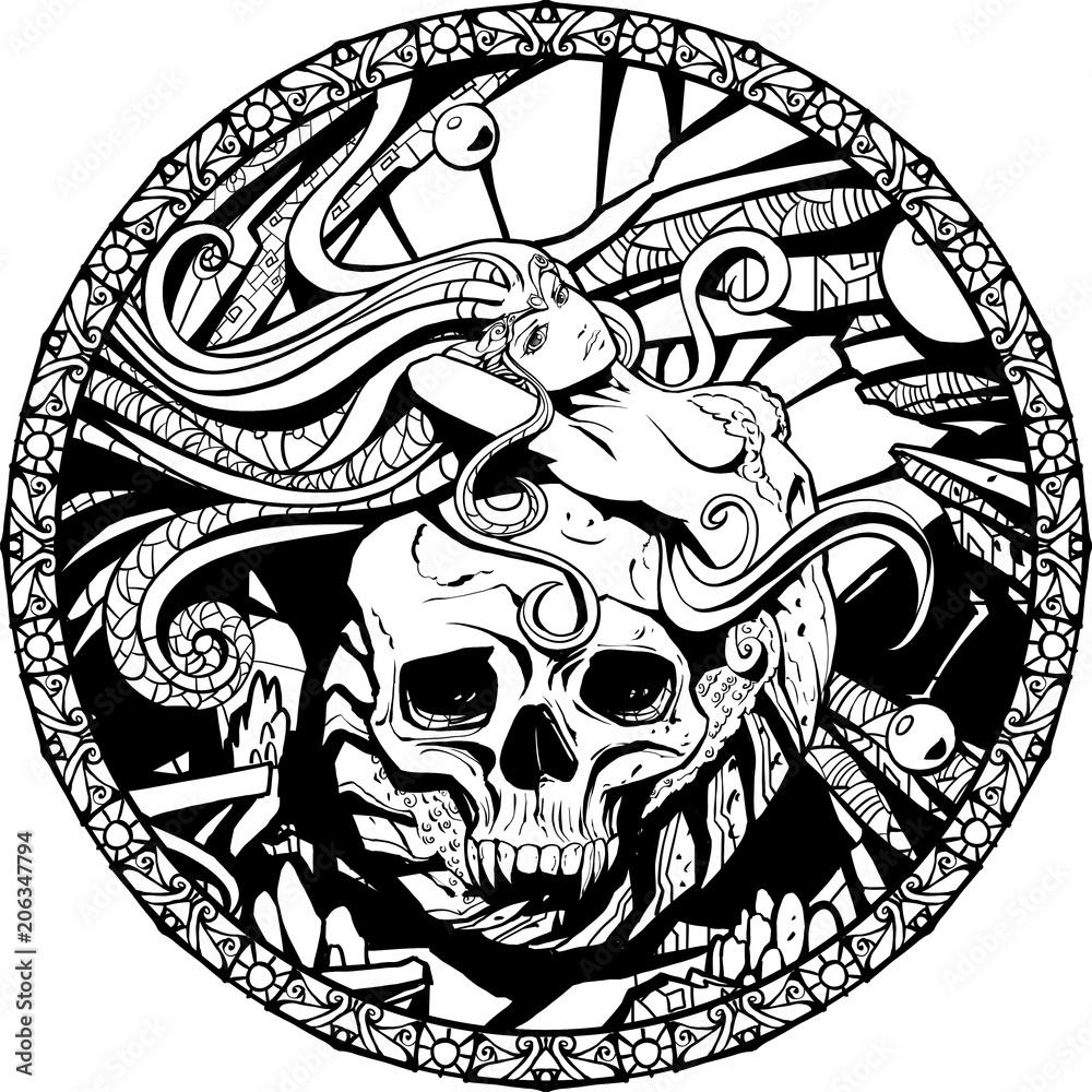 Fototapeta Mermaid of death
