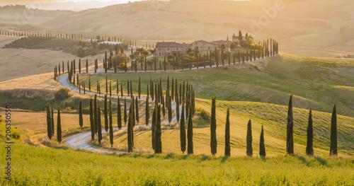 Fotobehang Toscane Tuscany landscape, Italy