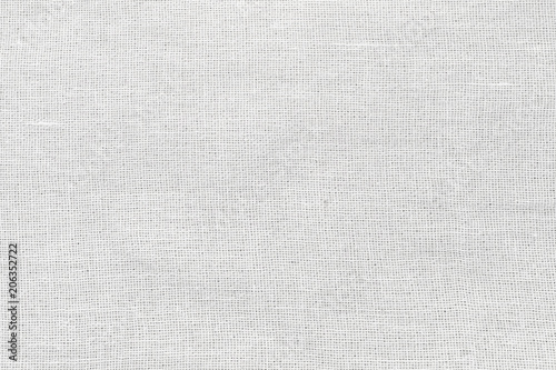 Poster Tissu White Cotton fabric cloth background High Resolution texture for design