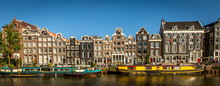Amsterdam Canal-front Houses