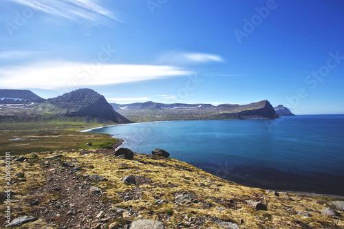 Hornstrandir Nature Reserve, West Iceland Fotobehang