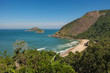 Beach, green and beautiful landscape - Prainha (Beautiful Rio de Janeiro Beach)
