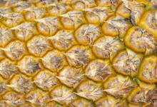 Ripe Yellow Pineapple Skin Tex...