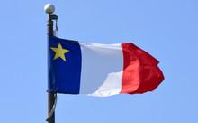 Flag Of Acadia Flying In Wolfv...