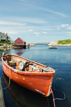 Fishing Dory In Peggy's Cove F...
