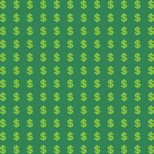 Dollars Pattern Seamless Backg...