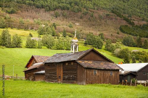 Poster Scandinavië Landscape in Norway