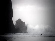 Morro Rock Storm Waves-3a