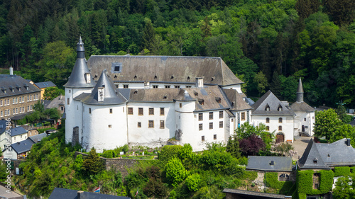 Canvastavla Schloss Clervaux in Luxemburg