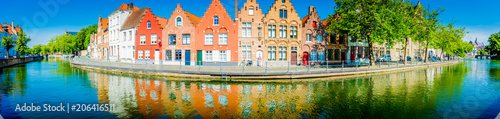 Printed kitchen splashbacks Bridges Brugge - Belgium