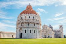 Pisa Baptistery Of St. John An...