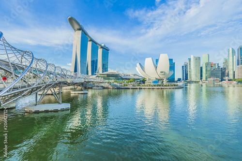 Tuinposter Aziatische Plekken シンガポールの風景
