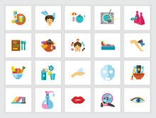 Cosmetology Icon Set. Can Be U...