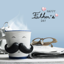Father's Day Concept Of Coffee...