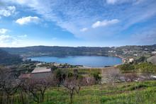 Averno Lake, Phlegraean Fields (Campi Flegrei), Italy