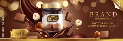 Fotografia Classic chocolate spread
