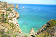 Atlantic coast in Algarve near Ponta da Piedade, Portugal