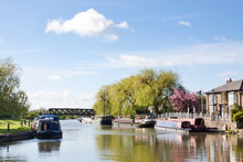 Great  Ouse Riverside In Sunny...
