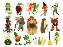 Fairy Tale Forest Characters Set