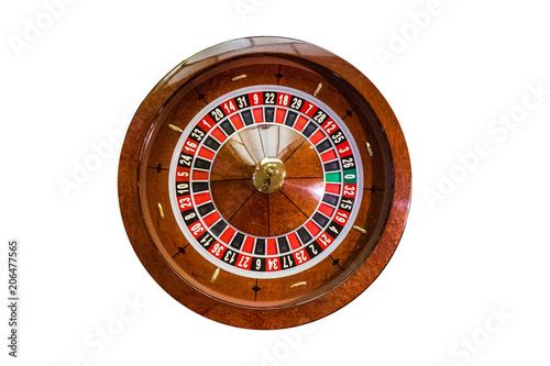 Fototapety, obrazy: gambling chips on a game table roulette