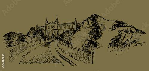 Obraz The Lublin Castle (Polish: Zamek Lubelski). - fototapety do salonu