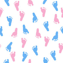 Baby Foot Prints. Baby Shower ...