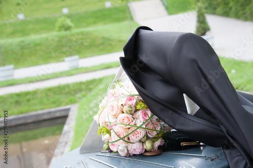Hochzeit Heiraten Hochzeitspaar Details Schmuck Deko Ringe Anzug