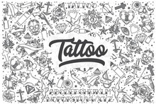 Hand Drawn Tattoo Vector Doodl...