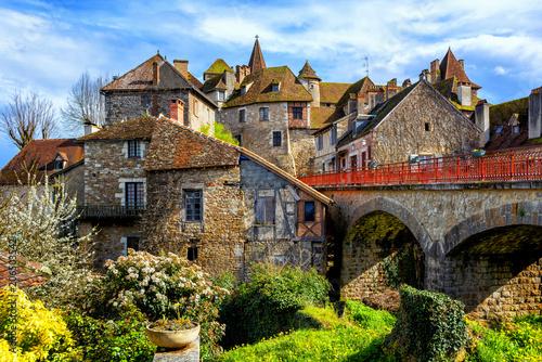 Carennac Old Town, Lot, France - 206503542