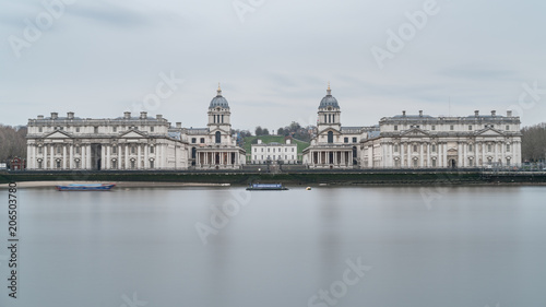 The Royal Naval College and National Maritime Museum in Greenwich Fototapeta