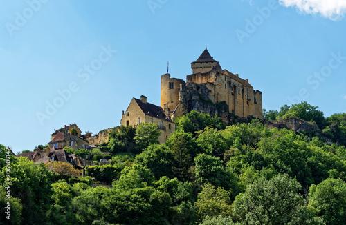 Spoed Foto op Canvas Kasteel Château de Castelnaud Dordogne