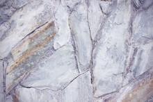 Gray Lilac Stone Bridge Wall R...
